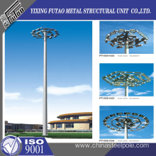 20 Years manufacturer for Hot Dip Galvanized Pole 30M High Mast Lighting Pole supply to Pitcairn Manufacturer